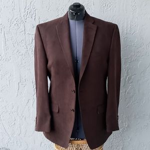 Lauren Ralph Lauren Men's Classic Brown Blazer